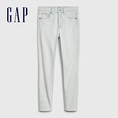 Gap女裝淺色水洗五口袋牛仔褲547165-泛白輕藍