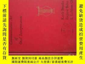 二手書博民逛書店The罕見communicative act of oral i