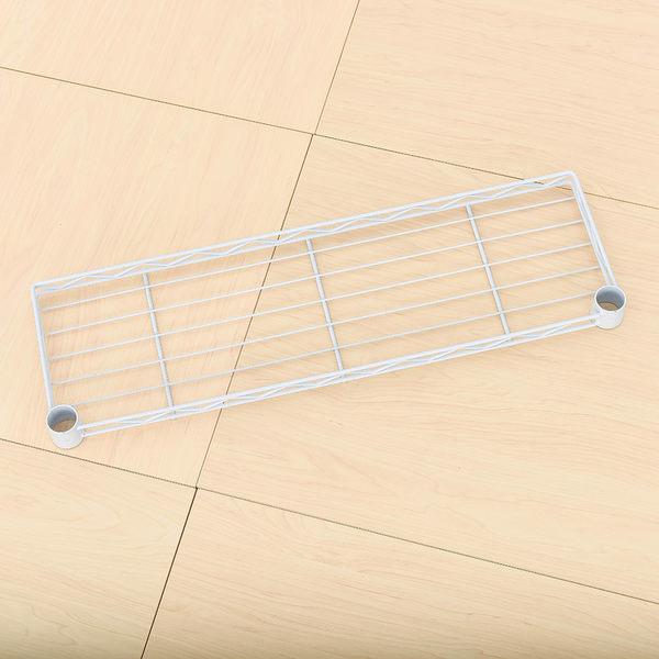 收納架/置物架/層架配件  【配件類】60X20cm 反焊設計烤白ㄇ網  含夾片/PP板  dayneeds