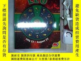 二手書博民逛書店ZODIAC罕見SIGNS LEO 獅子座星座(614)Y203004