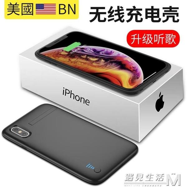 蘋果X專用背夾充電寶iphone xs max蘋果XR背夾電池超薄大容量 聖誕節全館免運