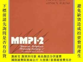 二手書博民逛書店Assessment罕見of Chronic Pain Patients with the MMPI-2-MMPI