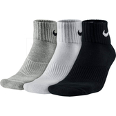 NIKE 三色 中筒襪 日版 短襪 純棉 減壓 (3入1組) 男 (布魯克林) SX4703-901