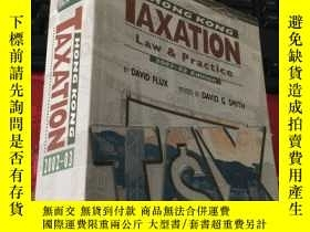 二手書博民逛書店TAXATION罕見HONG KONG Law & Practi