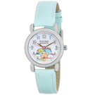 【角落生物皮革手錶】角落生物 高質感 皮革 手錶 藍綠色 日本正版 該該貝比日本精品 ☆