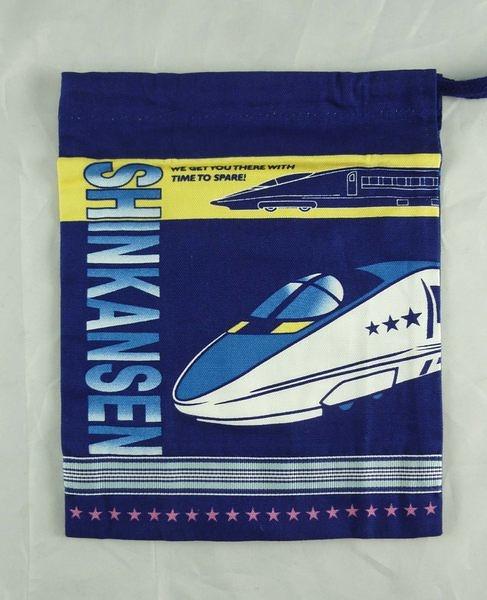 【震撼精品百貨】Shin Kan Sen 新幹線~縮口袋『深藍』