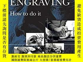 二手書博民逛書店【罕見】2011年出版,Wood Engraving: How
