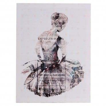HOLA 現代無框畫/寂靜芭蕾(1)