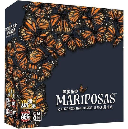 『高雄龐奇桌遊』 蝶旅花香 Mariposas 繁體中文版 正版桌上遊戲專賣店