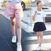 5女童短褲裙夏裝新款10女孩百搭褲子9-11周歲中大童短褲外穿