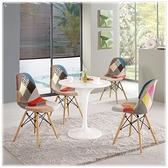 【水晶晶家具/傢俱首選】JM11029-1 珍尼絲2.3尺圓桌~~餐椅需另購