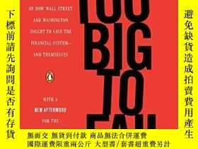 二手書博民逛書店Too罕見Big To Fail-大到不能倒Y436638 Andrew Ross Sorkin Pengui