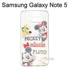 迪士尼透明軟殼 [Q版]米奇 Samsung Galaxy Note 5 N9208【Disney正版授權】
