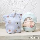 蠟筆小新手提洗衣袋- Norns 正版授權 分隔式洗衣袋 洗衣網 大容量