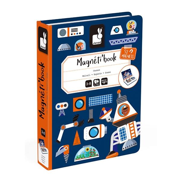 【法國Janod】磁鐵遊戲書-太空探險