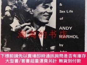 二手書博民逛書店The罕見Autobiography and Sex Life of Andy WarholY473414 J