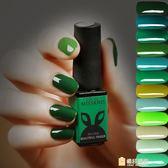 美甲指甲油膠 祖母綠墨綠軍綠翡翠綠系列 蔻丹qq芭比光療彩膠套裝WY一件免運