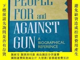 二手書博民逛書店People罕見For and Against Gun Cont
