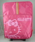 【震撼精品百貨】Hello Kitty 凱蒂貓~20吋-粉色-布面-行李箱/旅行箱/登機箱【共1款】