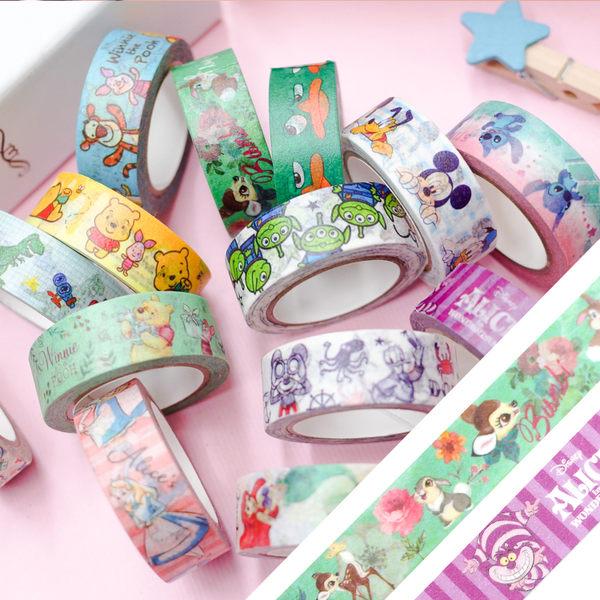 PGS7 迪士尼系列商品 - 迪士尼 裝飾 紙膠帶 ( DP 系列 ) 維尼 / 米奇 / 玩具總動員【SHU71560】