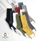 【正韓直送】韓國襪子 加長堆堆素色中筒襪...