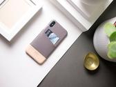 Alto iPhone Xs 真皮手機殼背蓋 5.8吋 Metro - 礫石灰/本色【可加購客製雷雕】皮革保護套