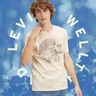 Levis Wellthread環境友善系列 男款 單口袋短袖T恤 / 棉麻混紡工法 / 低加工保留布料原始質感