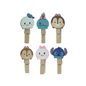 【收藏天地】迪士尼系列*木夾裝飾組tsumtsum /文具卡通可愛