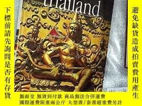 二手書博民逛書店THAILAND罕見PLACES AND HISTORY 泰國名