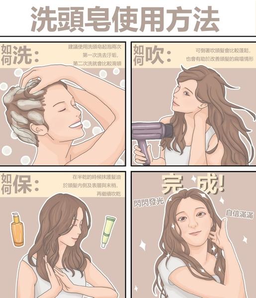 何首烏調理洗髮皂