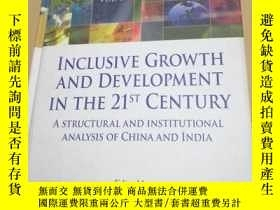 二手書博民逛書店INCLUSIVE罕見GROWTH AND DEVELOPMEN