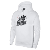 Nike 連帽T恤 Jordan Tattoo Hoodie 白 黑 男款 【PUMP306】 BV7486-100