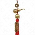 銅葫蘆鈴鐺+五帝錢小吊掛飾 勝億紙藝品行春聯年節喜慶飾品批發零售