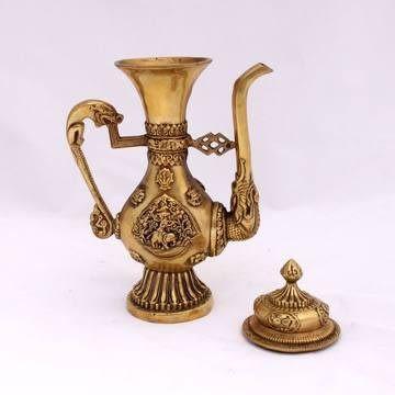 銅酒壺工藝品 古風格e