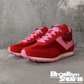 PONY 紅 花卉 高筒 休閒鞋 基本款 復古 女 (布魯克林) 61W1SO73RD