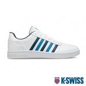 【超取】K-SWISS Court Chesterfield時尚運動鞋-男-白/藍