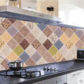 透明廚房防油貼紙耐高溫瓷磚墻貼灶台貼紙
