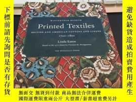 二手書博民逛書店Printed罕見Textiles: British and A