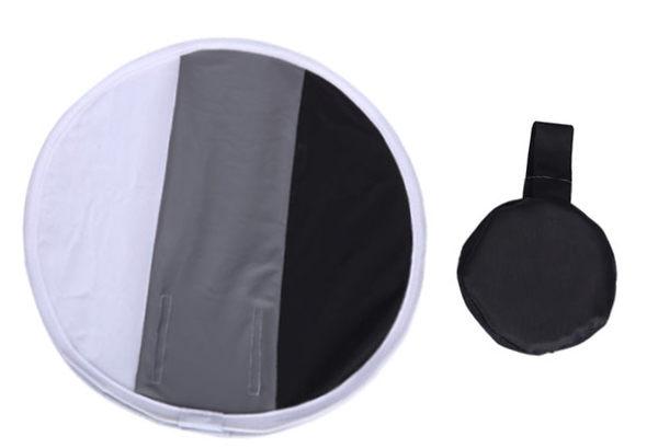 呈現攝影-Selens 灰卡圓型柔光罩 31cm  柔光片 黑白灰校正 外閃型用 無影罩 機頂 工作室 活動