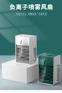 水冷風扇負離子桌面降溫空氣凈化器風扇USB充電噴霧風扇 小山好物