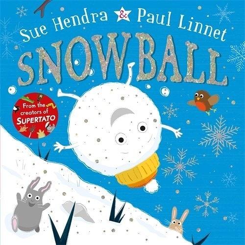 【麥克書店】SNOWBALL /英文繪本 《主題:聖誕節.幽默》