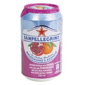 (組)義大利聖沛黎洛氣泡水果水柑橘紅石榴330ml 24入組