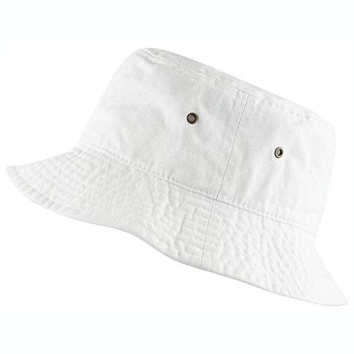 男女防曬遮陽漁夫帽(白色)