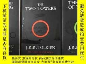 二手書博民逛書店《The罕見Fellowship of the Ring (Th