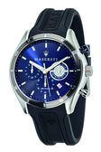 【Maserati 瑪莎拉蒂】三眼橡膠錶(男錶 女錶)/R8871624003/台灣總代理原廠公司貨兩年保固