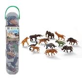 【永曄】collectA 柯雷塔A-英國高擬真動物模型-迷你史前動物組 (盒裝-12入)