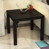 (中秋大放價)現代簡約茶几迷你小方桌子客廳多功能茶桌簡易角几邊几拉克邊桌xw