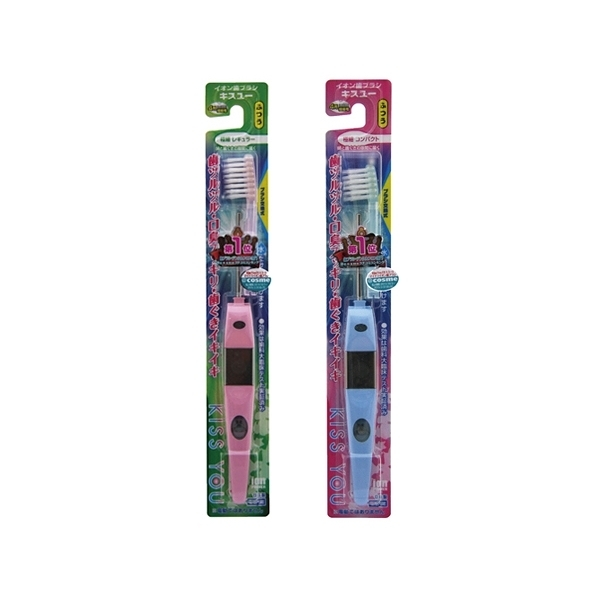 日本 KISS YOU 負離子極細型/輕巧極細 牙刷(1支入) 兩款可選【小三美日】