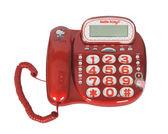 KITTY 有線電話機 KT-229T紅