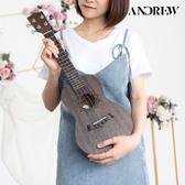 尤克麗麗女入門初學者學生成人單板烏克麗麗小吉他23寸26寸lx新年禮物